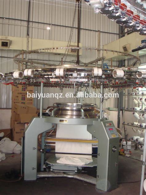 knitting machine industrial single jersey industrial textile circular knitting machine