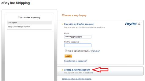 can i make a paypal payment with a credit card create your paypal account it s free to sign up paypal