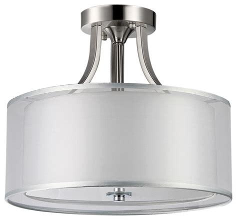 flush drum light fixture flush drum light fixture modern semi flush mount drum