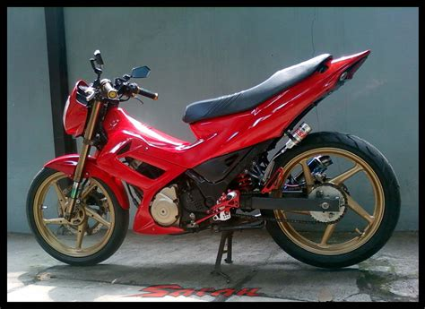 Modifikasi Motor Satria by Modifikasi Satria Fu Gagah Cxrider