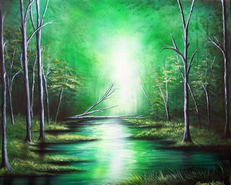 acrylic painting scenery image gallery landscape painting acrylic