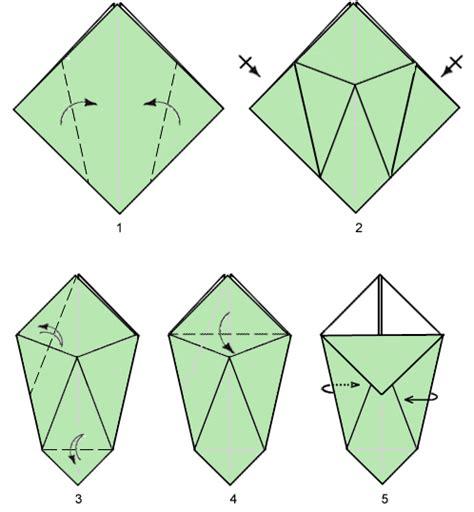 origami vases origami paper vase