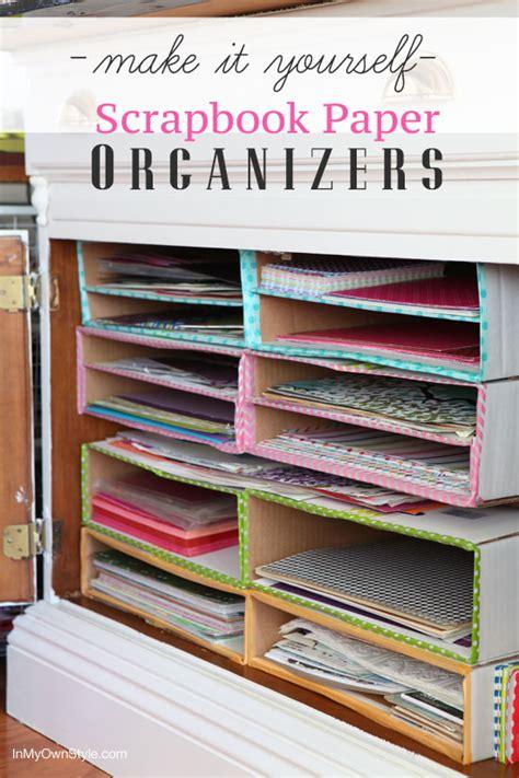 organizing craft paper 20 scrapbook paper storage ideas the scrap shoppe