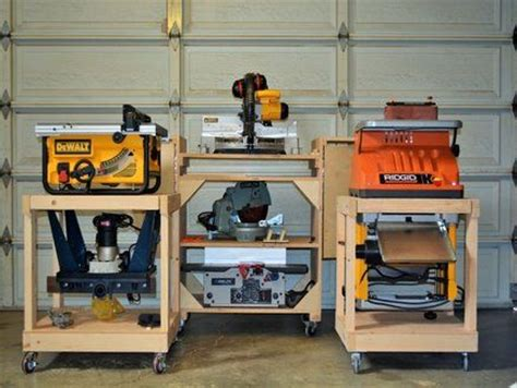 woodworking cart diy mobile tool cart woodworking projects plans