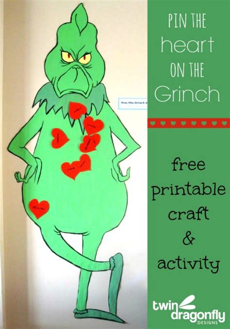 craft activities free 25 grinch crafts and treats