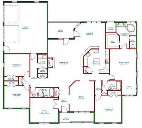 free home plan benefits of one story house plans interior design