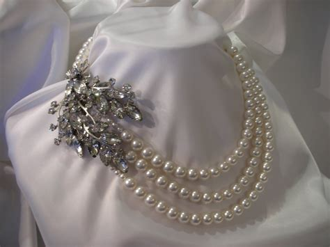 vintage for jewelry everything but the dress pearl vintage necklaces