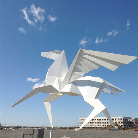 origami sculpture 15 origami installations that will amaze you hongkiat