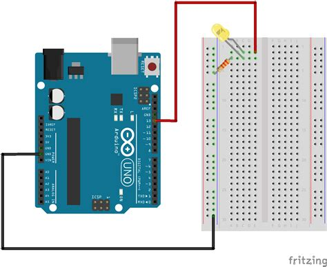 arduino led light using an arduino to blink an led innovex