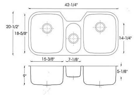 standard kitchen sink depth kitchen standard sink sizes for planning kitchens sink