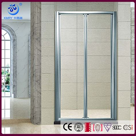 frosted bath shower screens folding bath frosted bifold shower screen kd3207 buy