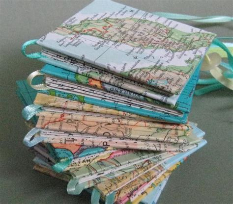 map crafts for 10 creative diy book cover ideas hative