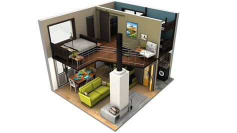 Small Home Floor Plans With Loft inside tiny houses tiny house floor plans with loft tiny