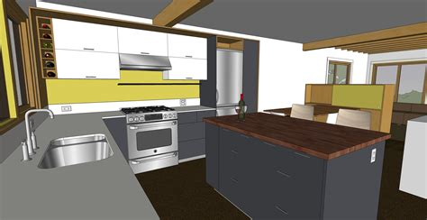 designing a kitchen with sketchup kitchen sketchup chezerbey