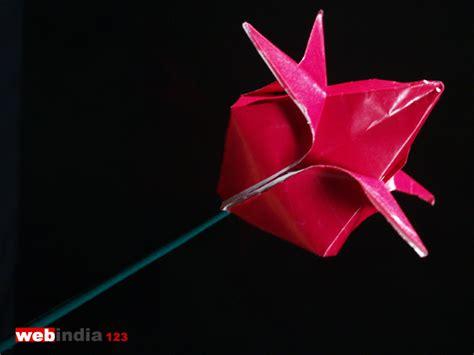 lotus flower paper craft origami lotus how to make origami lotus craft