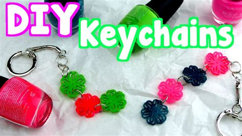how to make craft diy crafts how to make easy keychains