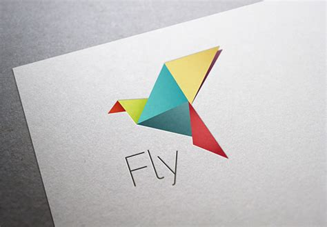 origami bird template 60 amazing psd ai eps business logo templates web