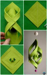 craft ideas for with paper diy ornament craft ideas for to make