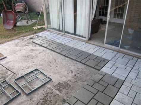 patio paver molds mold block paving concrete walk maker path decor garden