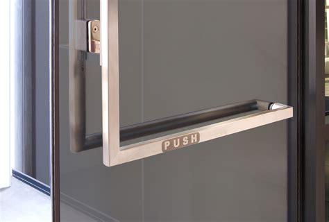 panic hardware for glass doors crl s blumcraft division introduces designer series panic