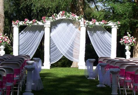 decoration outside home outdoor wedding decorations for your inspiration