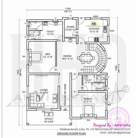 ground floor plans house july 2014 home kerala plans