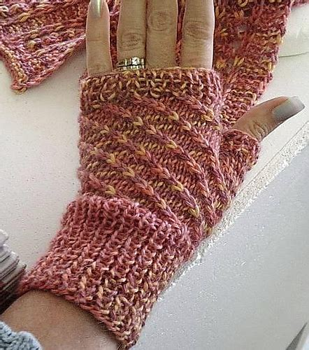 knitting daily patterns wrist and warmer knitting patterns in the loop knitting