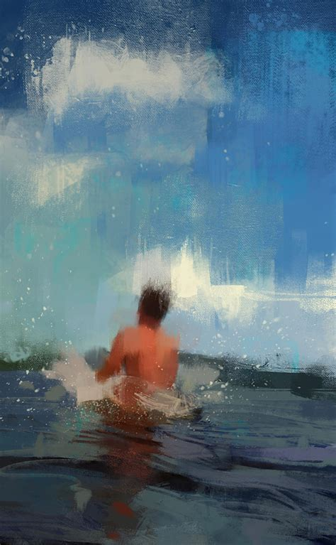 show about painting swimmer 5 fubiz media