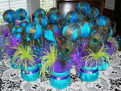 peacock themed decorations diy wedding peacock decorations ideas