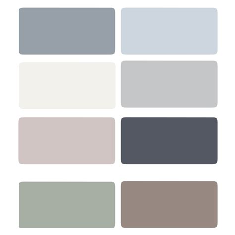 paint colors grey light blue gray color palette