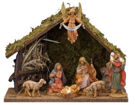 manger set 5 inch scale 7 nativity set by fontanini