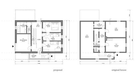 ground floor plan chalet in krkonoše znameni ctyr architekti archdaily