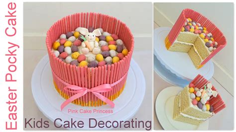 easy decoration home design simple birthday cake