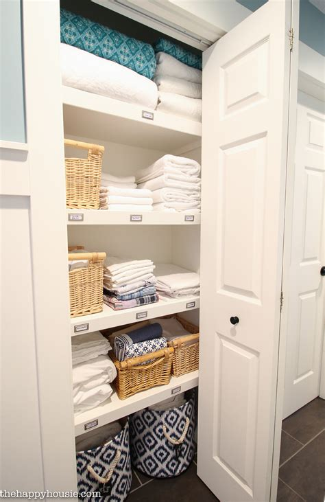 linen closet how to completely organize your linen closet the happy