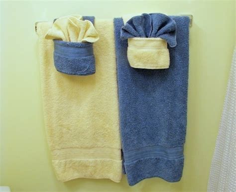 easy towel origami keep your bathroom looking fancy by folding towels with