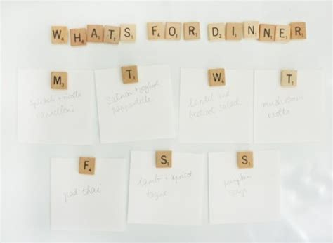 Craft Of The Day Scrabble Tile Magnets Huffpost