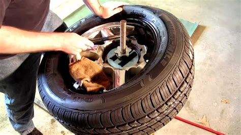 how to fix tire bead leak repairing an automotive tire bead leak with sealer