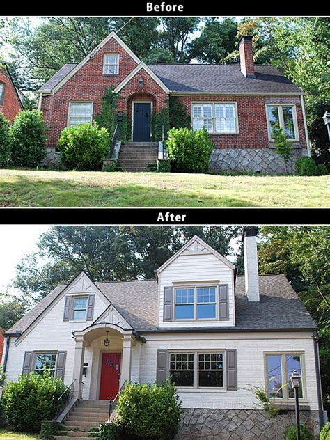 before and after small home before and after home renovations on behance