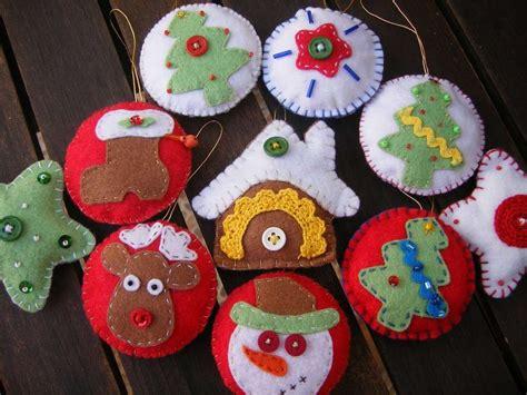 adornos arbol de navidad manualidades 10 ideas para hacer tus adornos navide 241 os en fieltro