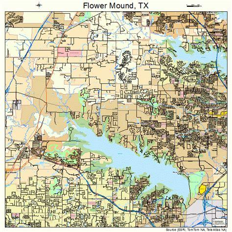flower mound flower mound map 4826232