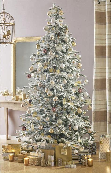 sapin blanc et or les plus beaux sapins de no 235 l cadeau unique inspiration