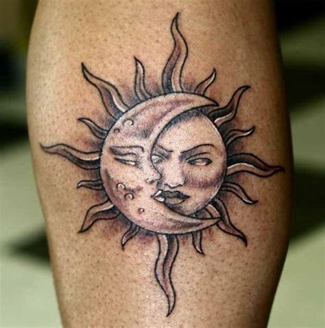 30 amazing sun tattoo designs for boys and girls