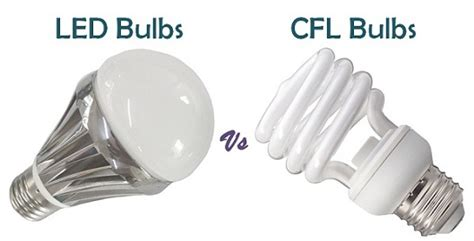 led light bulbs vs incandescent and fluorescent difference between led and cfl bulbs with similarities