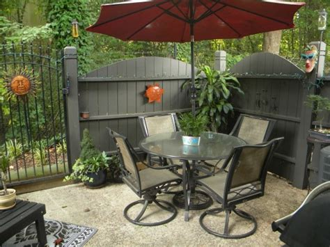 backyard ideas decorating 15 fabulous small patio ideas to make most of small space