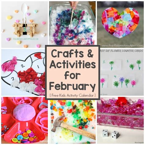 february crafts related keywords suggestions for month february activities