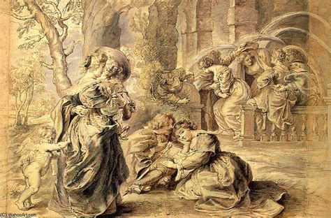 Der Garten Der Liebe by Der Garten Der Liebe Detail Paul Rubens 1577