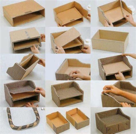 cardboard crafts for best 20 cardboard box storage ideas on