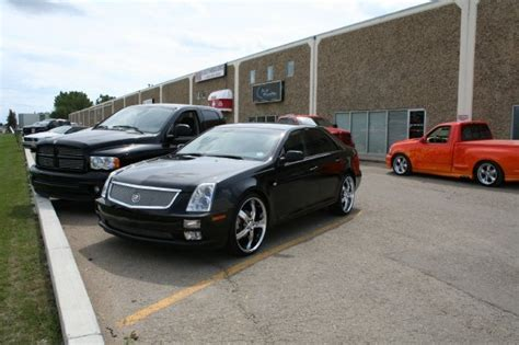 custom rubber sts handmade by fueld designs 2005 cadillac sts specs photos