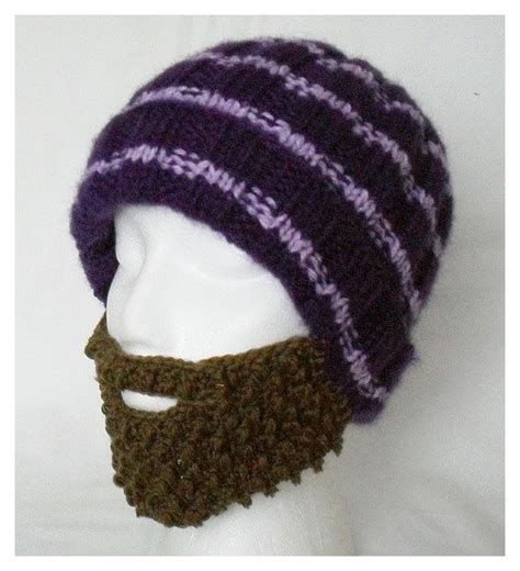 beard knit hat knitted hat with beard