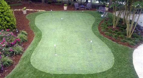 putting greens backyard backyard putting greens intelliturf